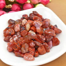 100% NATURAL Carnelian Tumbled Stones Lots Rough/Specimen NICE 50g