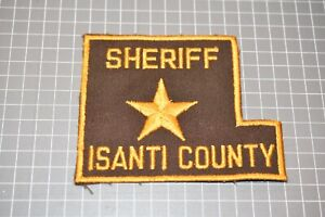 Isanti County Minnesota Sheriff Patch (US-Pol)