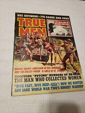 True Men Magazine, 1964 Oct, Nazi, torture, GGA, pulp, bondage, men's adventure