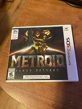 Metroid Sami's Returns Nintendo 3DS Great Shape