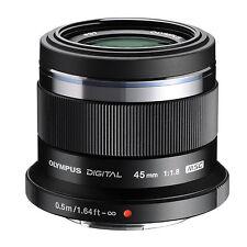 Olympus Pen M.Zuiko Digital 45mm F/1.8 MFT (Black) Lens *NEW*