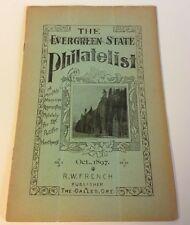 EVERGREEN STATE PHILATELIST No. 46, Oct. 1897. Wrappers STAMP COLLECTING HISTORY