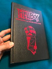 Rare Hellboy Sourcebook And Role Playing Game Book Mike Mignola Hardcover