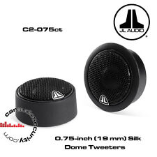 JL Audio C2-075CT - (19 mm) Silk Dome C2 Tweeters 150W Pair Car Tweeters
