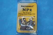 National Original Vintage Nickel Silver Finger Picks Set of 4, MPN NP2-4PK