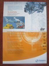 DOCUMENT TURBOMECA SAFRAN ARRIEL 2B/2C HELICOPTER TURBINE ENGINE EC 155 AS 365
