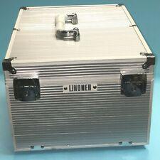 Lindner klappbarer Aluminium Boxen-Koffer 2358 für 8 Münzboxen 260x340x200mm