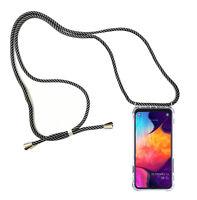 Hülle HandyKette für Huawei Mate 20 Pro DualSim LYA-L29 Tasche Hals Band GRAU