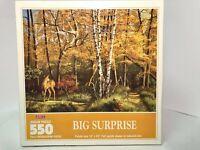 Hoyle 550 Piece Jigsaw Puzzle Big Surprise Brand New Unopened Sealed USA Made