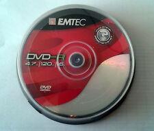 EMTEC DVD-R/10 DVD REGISTRABILI -R 4.7 GB 16X CAKE B. 10 PZ