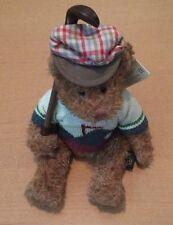 "Russ Golf Bear Plush Named Bogey Jr. 8"""