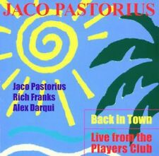 Jaco Pastorius - Back in Town-Live from the [New CD] Italy - Import