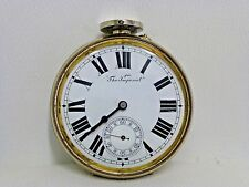 Automobile Regulateur Depose Imperial Pocket Watch Large Car Coach Antique Time