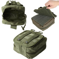 Tactical MOLLE EMT First Aid Medical Utility Pouch Emergency Bag For Vest & Belt