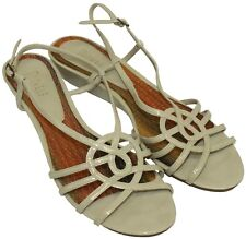 Nickels Womens Ladies Ice Strappy Open Toe Wedge Sandals Shoes Size 9.5M