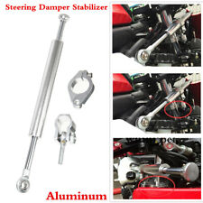 Motorcycle 33cm Anti-oxidation Aluminum Steering Damper Stabilizer Accessories