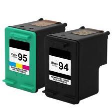 2PK Compatible for HP 94 95 Ink For OfficeJet 7210v 7210 6210 Deskjet 6840 6830