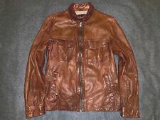Cole Haan RACER Men's Lambskin Leather Jacket/Coat. M