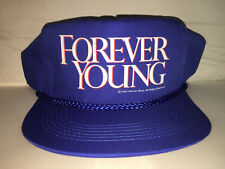 Vtg Forever Young Snapback hat cap 1992 mel gibson jamie lee curtis 90s movie