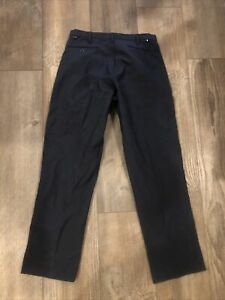 Nomex Workrite FR Navy Blue Flame Resistant FireFighter Pants Size 34 W X 32 L