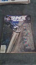 OLD SCHOOL BMX BMX ACTION MAGAZINE OCT 1988 TERRIBLE TEN NORA CUP VOTING VINTAGE