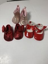 (3) Size 1  Shoes Laura Ashley,  Wee Tots  and Trimfoot Co