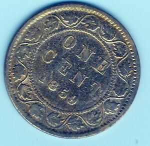 CANADA, 1859, 1c, Large Penny, Queen Victoria (COIN, MONEY, COLLECTIBLE) a