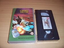 VHS A BRIDGE TOO FAR SPECIAL COLLECTORS EDITION SEALED