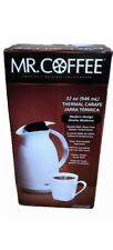 Mr Coffee Thermal Carafe Double Wall Glass Lined Red coffee pot 32 Oz