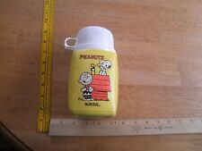Peanuts Charlie Brown Snoopy King-Seeley lunch thermos 1970's