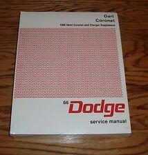 1966 Dodge Dart Coronet Shop Service Manual w Hemi Coronet & Charger Supplement