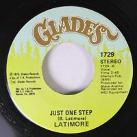 Soul 45 Latimore - Just One Step / There'S A Red-Neck In The Soul Band On Glades
