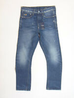 GStar Raw TYPE-C RE 3D LOOSE TAPERED W32 L34  RRP £207.99 Selvedge Denim Jeans