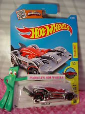 2016 i Hot Wheels TOOLIGAN #31✰Chrome/Gray; red rim oh5✰Tool-in-1✰Case P/Q