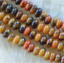 Natural 5x8mm Yellow Azurite Chrysocolla Loose Bead 15'' JL0800