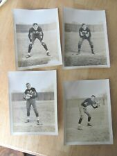 1930 MOLINE IL 18 PHOTO FOOTBALL TEAM PLAYERS HIGH SCHOOL & 1 GAME PHOTO