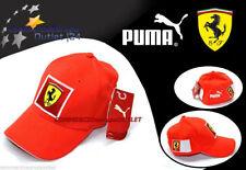 cappello berretto puma ferrari visiera originale sport formula 1 corse STOCK