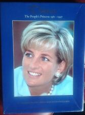 Princess Diana Rare Box Commemorative Postcards 1997 From Kensington Palace