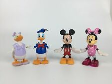 Disney Mickey Mouse Clubhouse 4pcs Figurine Figure cake topper Play set Toy