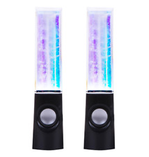 Musical DANCING LIGHTS Water Fountain Speaker for  Multimedia PC LAPTOP Computer