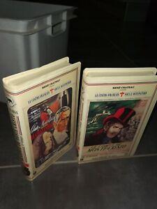 LE COMTE DE MONTE CRISTO - RENE CHATEAU - Richard William - K7 VHS [RARE] 1&2