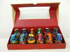 Mg084 Authentic Models Colorful Prose Collection of 12 Ink Bottles