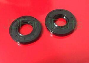 2 John Deere 425 445 455 Mower Deck Gearbox Seals    Input & Output Shaft Seal