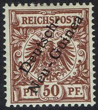 GERMAN NEW GUINEA 1897 EAGLE 50PF