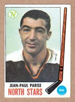 1969-70 Topps #127 Jean-Paul Parise Minnesota North Stars EX condition