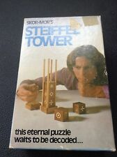 SKOR-MOR's. Steiffel Tower. Wood Puzzle. This eternal puzzle waits to be decoded