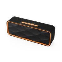 Wireless Bluetooth Speaker Stereo MP3 Music Player SoundBox Portable USB TF Aux