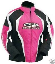 Snowmobile Jacket Ladies size Medium Coldwave Sno Ice Pink/Black/White New