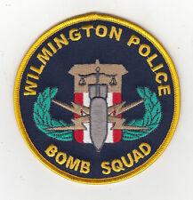 North Carolina Wilmington Police Bomb Squad Patch