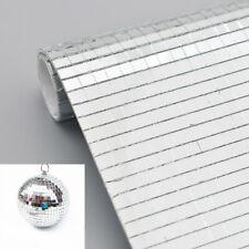 Self Adhesive Mini Mosaic Square Sticker Mirror Glass Wall Crystal Tile 30x30cm